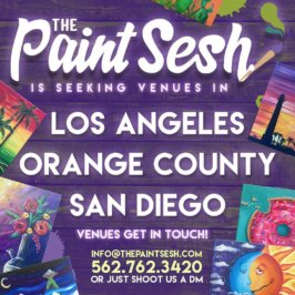 The Paint Sesh is seeking venues!