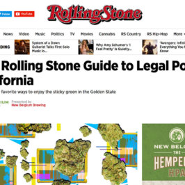 PRESS: The Paint Sesh in the Rolling Stone!