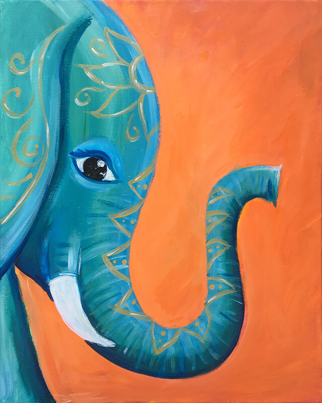 Bohemian Tusk Painting Party