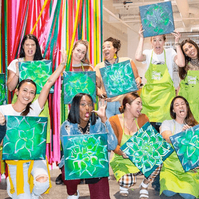 Paint & Puff | 420 Friendly Painting Classes | California