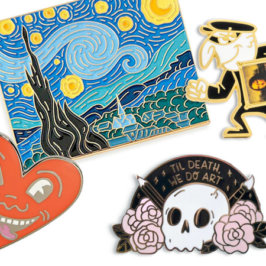 Enamel Pins for Artists – The Top 25 Absolute Must Haves!